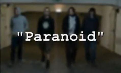 "Musikvideo ""Paranoid"""